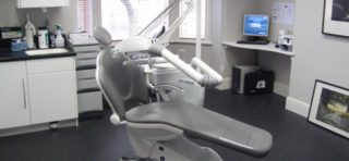 image of a dentists room and chair