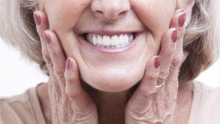 counteracting facial ageing in denture wearers