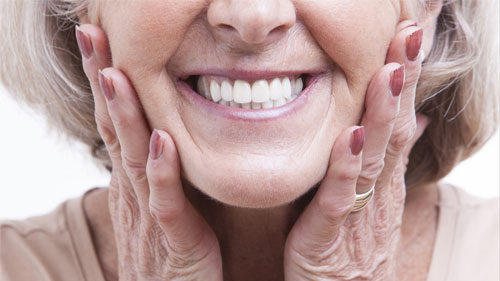 counteracting facial ageing in denture wearers