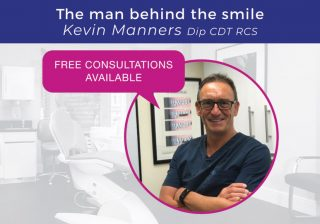 The man behind the smile - Kevin Manners
